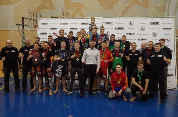 SIAULIAI OPEN GRAPPLING NO-GI CHAMPIONSHIP RESULTS