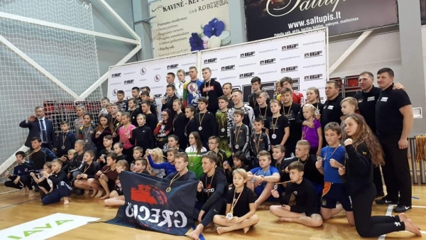 LITHUANIAN OPEN GRAPPLING CHAMPIONSHIP RESULTS