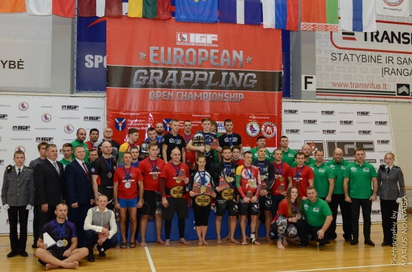 EUROPEAN OPEN GRAPPLING IGF CHAMPIONSHIP  RESULTS