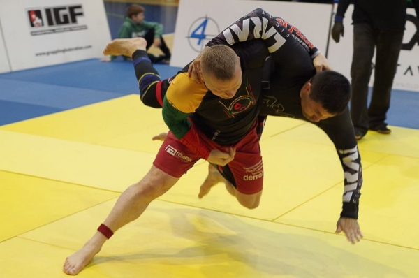 Grappling season: all - from records to a professional fight