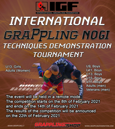 INTERNATIONAL GRAPPLING NOGI TECHNIQUES DEMONSTRATION TOURNAMENT