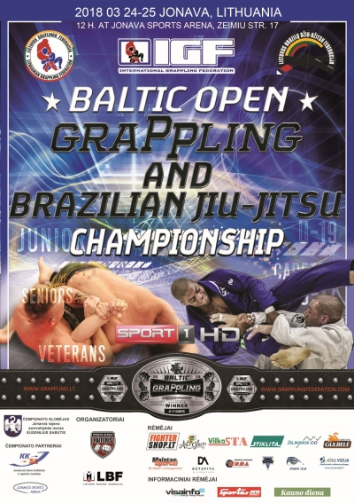 BALTIC OPEN GRAPPLING AND BRAZILIAN JIU-JITSU CHAMPIONSHIP
