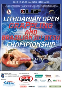 LITHUANIAN OPEN GRAPPLING CHAMPIONSHIP