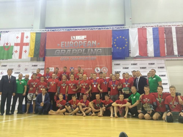 EUROPEAN GRAPPLING OPEN CHAMPIONSHIP Results
