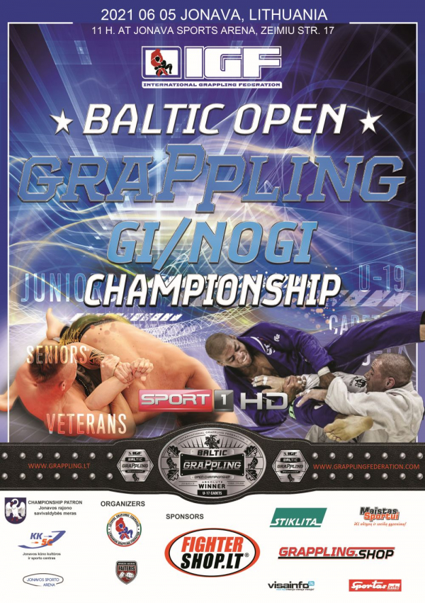 BALTIC OPEN GRAPPLING CHAMPIONSHIP